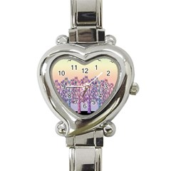 Magical Hill Heart Italian Charm Watch by Valentinaart