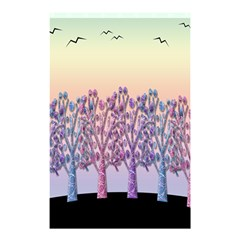 Magical Hill Shower Curtain 48  X 72  (small)  by Valentinaart