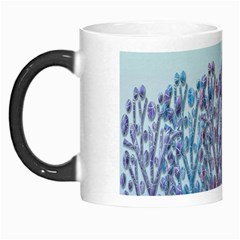 Blue Magical Hill Morph Mugs by Valentinaart