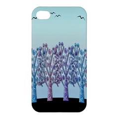 Blue Magical Hill Apple Iphone 4/4s Premium Hardshell Case