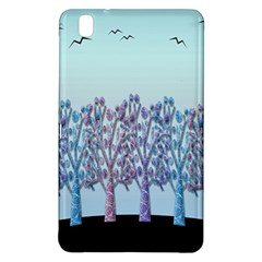 Blue Magical Hill Samsung Galaxy Tab Pro 8 4 Hardshell Case by Valentinaart