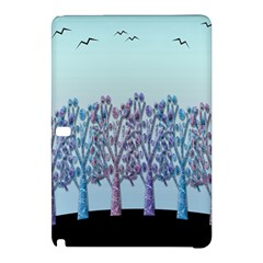 Blue Magical Hill Samsung Galaxy Tab Pro 12 2 Hardshell Case by Valentinaart