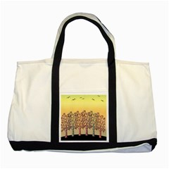 Magical Sunset Two Tone Tote Bag by Valentinaart