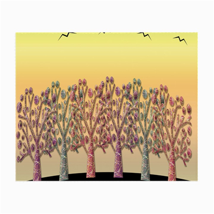 Magical sunset Small Glasses Cloth (2-Side)