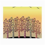 Magical sunset Small Glasses Cloth (2-Side) Back