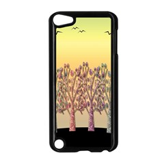 Magical Sunset Apple Ipod Touch 5 Case (black) by Valentinaart