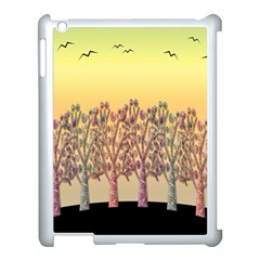 Magical Sunset Apple Ipad 3/4 Case (white) by Valentinaart