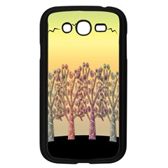 Magical Sunset Samsung Galaxy Grand Duos I9082 Case (black) by Valentinaart