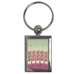 Magical Landscape Key Chains (rectangle)  by Valentinaart