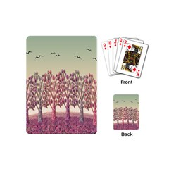 Magical Landscape Playing Cards (mini)  by Valentinaart