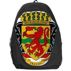 Coat Of Arms Of The Republic Of The Congo Backpack Bag by abbeyz71