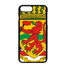 Coat Of Arms Of The Republic Of The Congo Apple Iphone 7 Plus Seamless Case (black) by abbeyz71