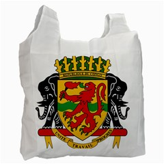 Coat Of Arms Of The Republic Of The Congo Recycle Bag (one Side) by abbeyz71