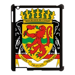 Coat Of Arms Of The Republic Of The Congo Apple Ipad 3/4 Case (black) by abbeyz71