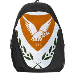Coat Of Arms Of Cyprus Backpack Bag by abbeyz71