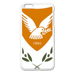 Coat Of Arms Of Cyprus Apple Iphone 6 Plus/6s Plus Enamel White Case by abbeyz71