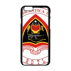Coat Of Arms Of East Timor Apple Iphone 6/6s Black Enamel Case