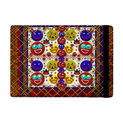 Smile And The Whole World Smiles  On Ipad Mini 2 Flip Cases by pepitasart