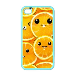 Cute Orange  Apple Iphone 4 Case (color) by Brittlevirginclothing