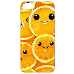 Cute Orange  Apple Iphone 5 Classic Hardshell Case by Brittlevirginclothing