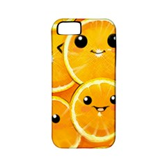 Cute Orange  Apple Iphone 5 Classic Hardshell Case (pc+silicone) by Brittlevirginclothing