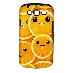 Cute Orange  Samsung Galaxy S Iii Classic Hardshell Case (pc+silicone) by Brittlevirginclothing