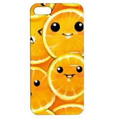 Cute Orange  Apple Iphone 5 Hardshell Case With Stand by Brittlevirginclothing