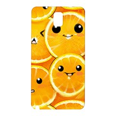 Cute Orange  Samsung Galaxy Note 3 N9005 Hardshell Back Case by Brittlevirginclothing