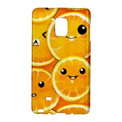 Cute Orange  Galaxy Note Edge by Brittlevirginclothing