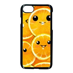 Cute Orange  Apple Iphone 7 Seamless Case (black) by Brittlevirginclothing