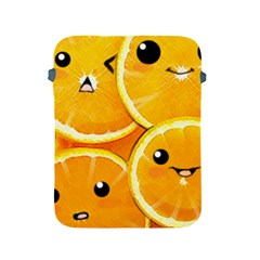 Cute Orange  Apple Ipad 2/3/4 Protective Soft Cases by Brittlevirginclothing