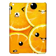 Cute Orange  Ipad Air Hardshell Cases by Brittlevirginclothing