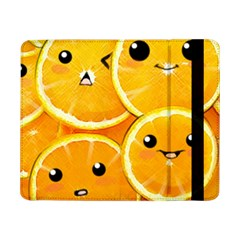 Cute Orange  Samsung Galaxy Tab Pro 8 4  Flip Case by Brittlevirginclothing
