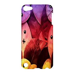 Cute Leaves  Apple Ipod Touch 5 Hardshell Case by Brittlevirginclothing