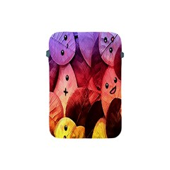 Cute Leaves  Apple Ipad Mini Protective Soft Cases by Brittlevirginclothing