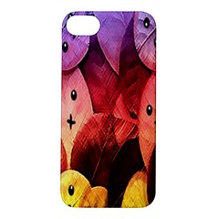 Cute Leaves Apple Iphone 5s/ Se Hardshell Case by Brittlevirginclothing