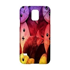 Cute Leaves Samsung Galaxy S5 Hardshell Case  by Brittlevirginclothing