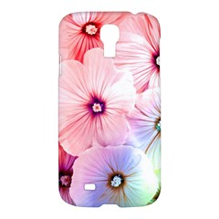 Rainbow Flower Samsung Galaxy S4 I9500/i9505 Hardshell Case by Brittlevirginclothing
