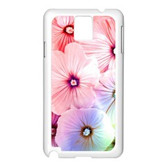 Rainbow Flower Samsung Galaxy Note 3 N9005 Case (white) by Brittlevirginclothing