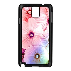 Rainbow Flower Samsung Galaxy Note 3 N9005 Case (black) by Brittlevirginclothing