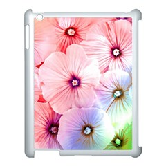 Rainbow Flower Apple Ipad 3/4 Case (white) by Brittlevirginclothing