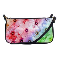 Rainbow Flower Shoulder Clutch Bags by Brittlevirginclothing