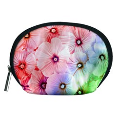 Rainbow Flower Accessory Pouches (medium)