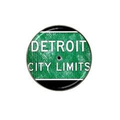 Detroit City Limits Hat Clip Ball Marker (4 Pack) by DetroitCityLimits
