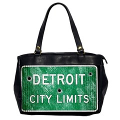 Detroit City Limits Office Handbags (2 Sides)  by DetroitCityLimits