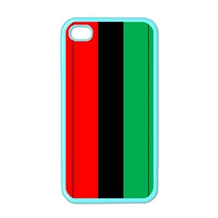 Kwanzaa Colors African American Red Black Green  Apple Iphone 4 Case (color) by yoursparklingshop