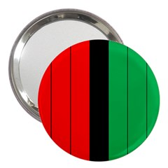 Kwanzaa Colors African American Red Black Green  3  Handbag Mirrors by yoursparklingshop