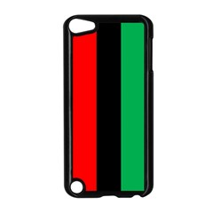 Kwanzaa Colors African American Red Black Green  Apple Ipod Touch 5 Case (black) by yoursparklingshop