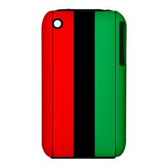 Kwanzaa Colors African American Red Black Green  Iphone 3s/3gs by yoursparklingshop