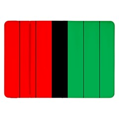 Kwanzaa Colors African American Red Black Green  Samsung Galaxy Tab 8 9  P7300 Flip Case by yoursparklingshop